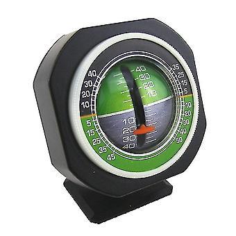 Car Angle Tilt Indicator Backlight Slope Meter Gauge, Built-in Light