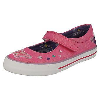 Meisjes Startrite Mary Jane Canvas schoenen Flutterby