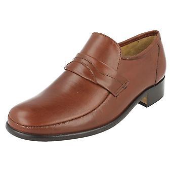 Mens Thomas Blunt Leather Slip On Shoes - Swindon