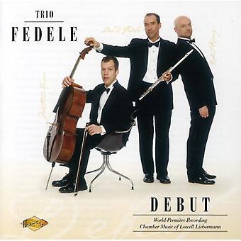 L. リーバーマン - トリオ Fedele: デビュー [CD] USA 輸入