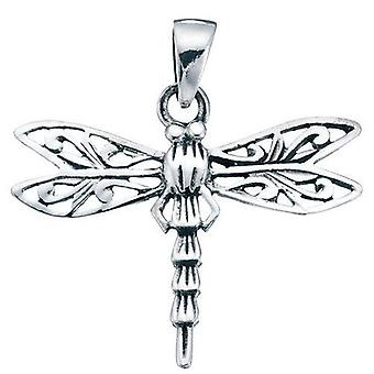 925 Silver Dragonfly Necklace