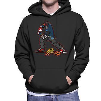 Poke Hunter Pokemon Street Fighter Men's Hooded Sweatshirt