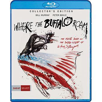 Waar de Buffalo Roam (Collector's Edition) [Blu-ray] USA import
