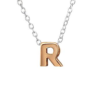 R - 925 Sterling Silver Plain Necklaces - W31024X