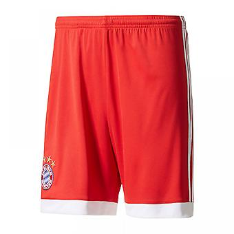 2017-2018 Bayern Munich Adidas Accueil Shorts (rouge)