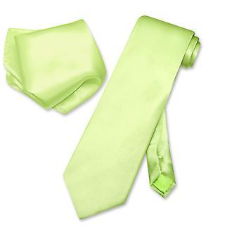 Biagio Solid 100% המשי עניבה & מטפחת גברים ' צוואר עניבה הגדר