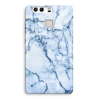 Huawei P9 fuld udskrive sag - Blue marble