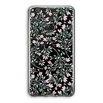 Huawei Ascend P8 Lite (2017) Transparant fall (Soft) - nätta blommor