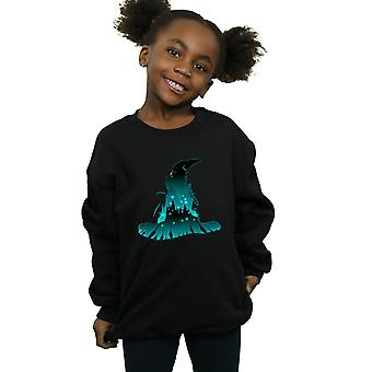 Harry Potter Girls Hogwarts Silhouette Sweatshirt