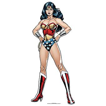Wonder Woman DC Comics Mini Cardboard Cutout / Standee / Standup