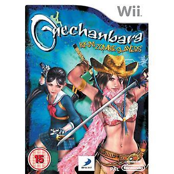 Onechanbara - Bikini Zombie Slayers (Wii) - Som ny