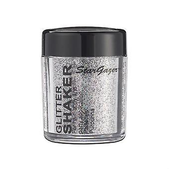 Stargazer Glitter scintillanti Shaker in acciaio grigio