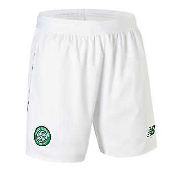 2018-2019 Celtic Home Shorts (alb)-copii