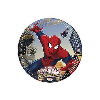 Becher Trinkbecher Cup Spiderman Warriors Kinderparty Geburtstag 200ml 8 Stück