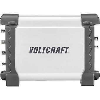 VOLTCRAFT DSO-2064G USB Oszilloskop 70 MHz 4-Kanal 200 MSa/s 16 MP 8 Bit Digitalspeicher (DSO), Spektrumanalysator, Funktionsgenerator