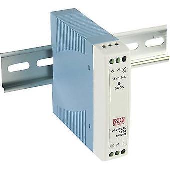 Mean Well MDR-10-5 feroviar montat PSU (DIN) 5 V DC 2 A 10 W 1 x