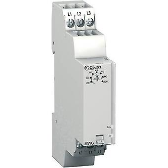 Monitoring relay 208 - 480 V AC 1 change-over Crouzet MWG 1 pc(s)
