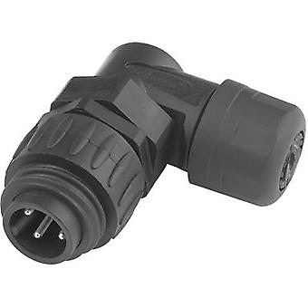 Amphenol C016 20K003 100 12 Bullet connector Plug, right angle Series (connectors): C016 Total number of pins: 3 + PE 1 pc(s)