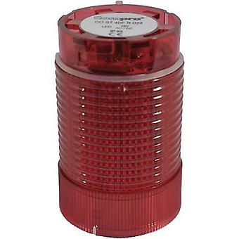 ComPro Signal tower component LED CO ST 40 Red Non-stop light signal, Flasher 24 V DC, 24 V AC 75 dB