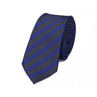 Schlips Krawatte Krawatten Binder 6cm lila dunkelgrau gestreift Fabio Farini