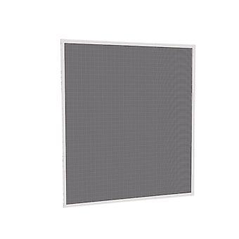 Battant de fenêtre grille protection insectes télescopique Kit 120 x 140 cm anthracite