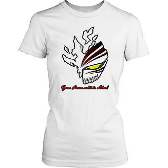 Ichigo - Votre énergie sera le mien - Masque creuse dames T-shirt