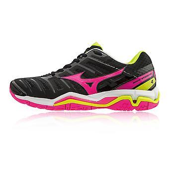 Обувь Mizuno Wave стелс 4 женская крытый корт