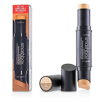Studio Skin Shaping Foundation + pehmeä Contour Stick-# 1,0 Peach Fair-11.75 g/0.4 oz