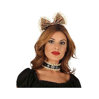 Haarschmuck Frauen Steampunk Haarband für Damen