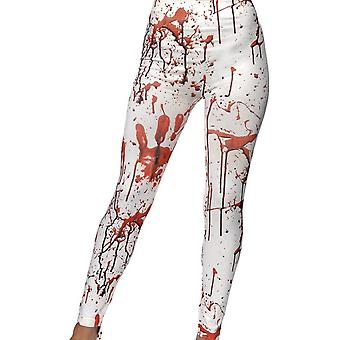 Horror Leggings, WHITE