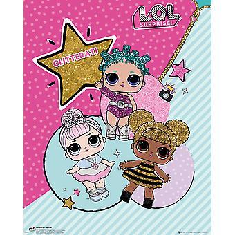 Affichette de la Glitterati Surprise LOL