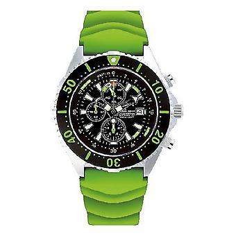 CHRIS BENZ - Diver watch - DEPTHMETER CHRONOGRAPH 300M - CB-C300-G-KBG