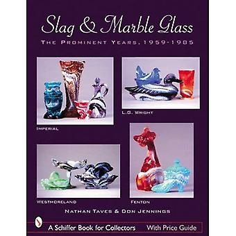 Escória e vidro de mármore: os proeminentes anos 1959-1985
