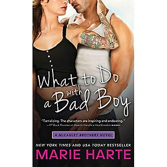 What to Do with a Bad Boy (McCauley Brothers Novels)