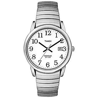 Timex Classic T2H451 Armbanduhr, analog, Edelstahl, Silber