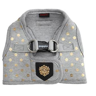 Puppia Modern Dotty Harness B Gray (Dogs , Collars, Leads and Harnesses , Harnesses)
