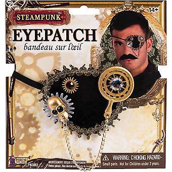 Steampunk Augenklappe für Erwachsene
