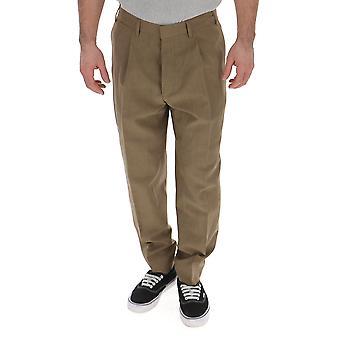 The Gigi Tongaak201200 Men's Brown Cotton Pants