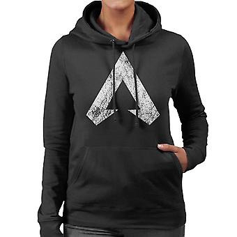 Apex Legends Distressed Symbol Logo Women's Hooded Sweatshirt