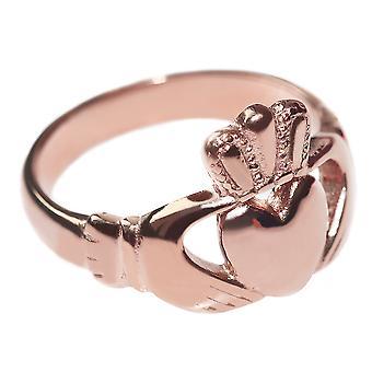 Kobiet Celtic Claddagh Ring w tradycyjnych modny Design