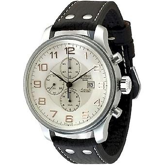 Zeno-watch mens watch giant chronograph date 10557TVD-f2