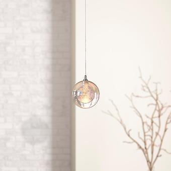 天井のライト吊り下げランプ シングル ペンダント ペンダント ライト ニッケル ラウンド新しいキャノピー