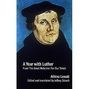 A Year with Luther by Athina Lexutt - 9781922239525 Book
