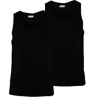 Dolce & Gabbana 2-Pack Day-By-Day-Tank-Top-Vests, Schwarz