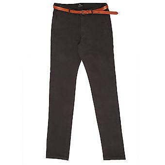 Scotch & Soda Slim Fit Chino Trousers, Graphite