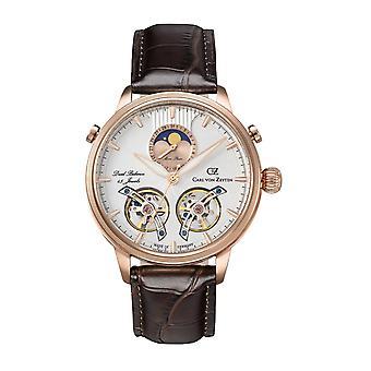 Carl von Zeyten Men's Watch Wristwatch Automatic Durbach CVZ0060RWH
