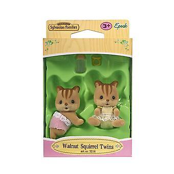 Sylvanian Families Walnut Squirrel Twins