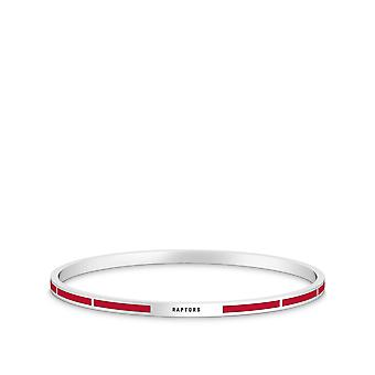 Toronto Raptors - Raptors Engraved Enamel Bracelet In Red