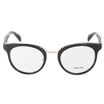 Prada Catwalk Inspiration PR 03UV 1AB1O1 51 Cat Eye Eyeglasses Frames