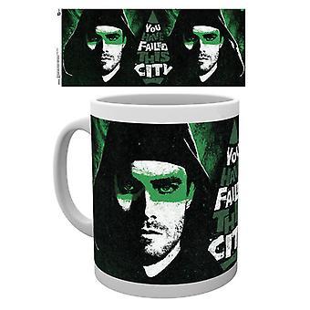 Arrow You Failed This City Boxed Drinking Mug
